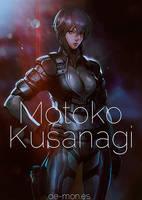 Motoko Kusanagi by De-monVarela