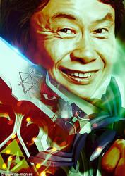 The Legend of Miyamoto | @Nintendo by De-monVarela