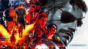 Metal Gear Solid V The Phantom Pain wallpaper by De-monVarela