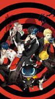 Persona 5 wallpaper for smartphone by De-monVarela
