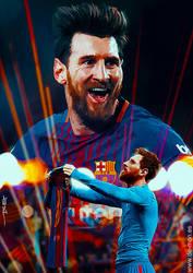 Lionel Messi - D10S by De-monVarela
