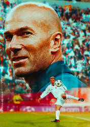 Zinedine Zidane - Zizou by De-monVarela