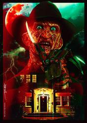 Freddy Krueger - Never sleep again! by De-monVarela