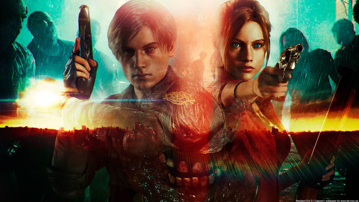 Resident Evil 2 wallpaper #RE2 by De-monVarela