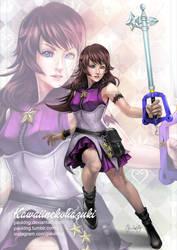 COMM- KH Claire- kawaiinekohazuki by pauldng