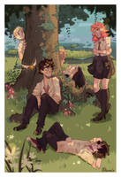 The Marauders by Quiveringteen