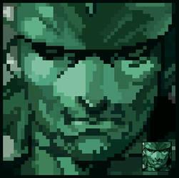Metal Gear Solid by SmidgeFish