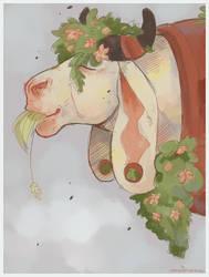 Moo by SmidgeFish
