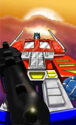 Optimus Prime (new version) by Mr-Alexander