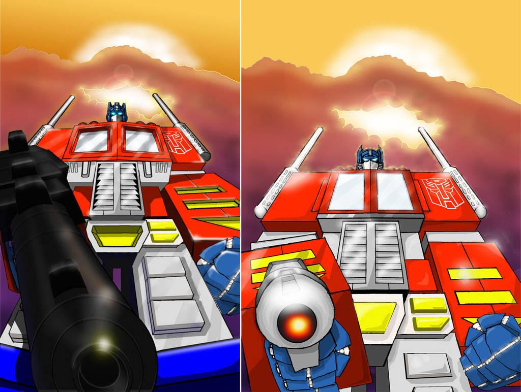 Optimus by Mr-Alexander