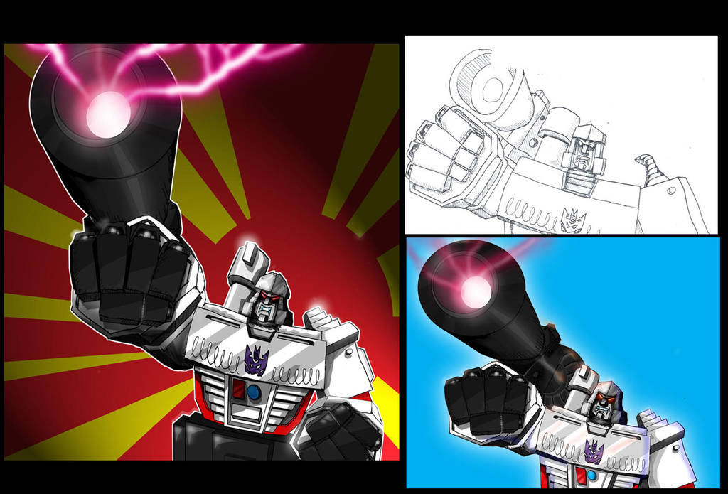 Megatron redux c by Mr-Alexander