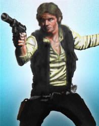 Han Solo - 2016 by Mr-Alexander