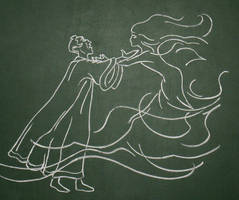 Frollo's Hellfire by Azdaracylius