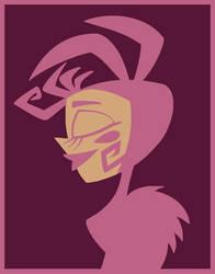 Random Nameless Cartoon Character 1 by Azdaracylius