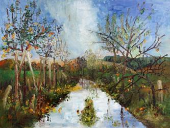Way Near Beselin After The Rain by BarbaraPommerenke