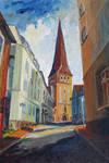 Siesta In Rostock's Eastern Historic District by BarbaraPommerenke