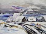 Winter At Little Jasmund Bay On The Island Ruegen by BarbaraPommerenke