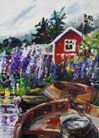 Summer In Sweden by BarbaraPommerenke