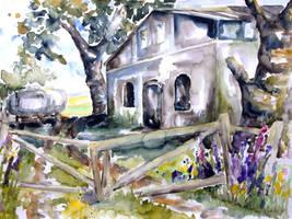 Abandoned Farm, Nossentin - Germany by BarbaraPommerenke