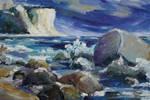 Approaching Storm At Kap Arkona by BarbaraPommerenke