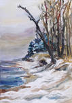 Winter at the Baltic Sea by BarbaraPommerenke