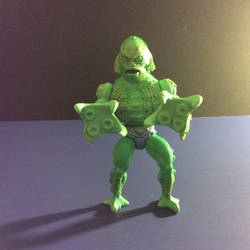 Monsters of the Universe Gillman by GoobleGobbleStudios