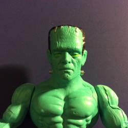 Monsters of the Universe Frankenstein's Monster by GoobleGobbleStudios