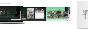 Games for Windows LIVE Concept by MetroUI