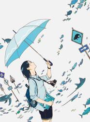 an university student #6 by ukkiuki