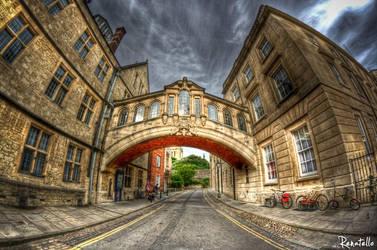 Bridge of Sighs Oxford by renatello