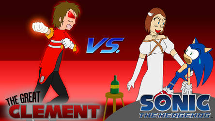 Clement vs. Sonic 06 by karto1989