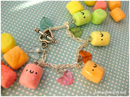Color Marshmallow Bracelet I by sunnyxshine