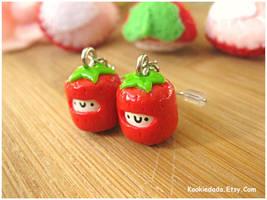 Strawberry Marshmallow Ear. II by sunnyxshine