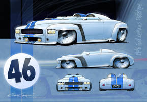 1946 Ford LeMans Racer by GaryCampesi