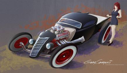 Hot cars. Hot women. by GaryCampesi