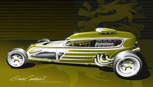 A radical 1932 Ford Tudor by GaryCampesi