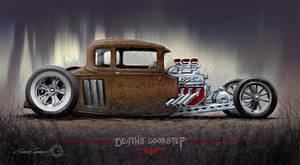Death's Doorstep by GaryCampesi