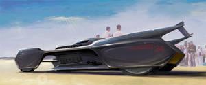 Futuristic Streamliner by GaryCampesi