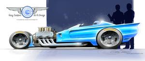 Custom Sports Roadster by GaryCampesi