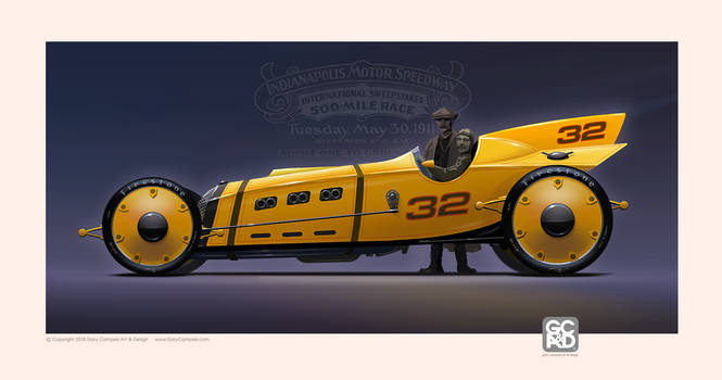 1911 Marmon Wasp Futurized by GaryCampesi