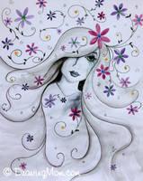 Petal Tears by DrawingMom