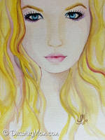 Yellow Hair by DrawingMom