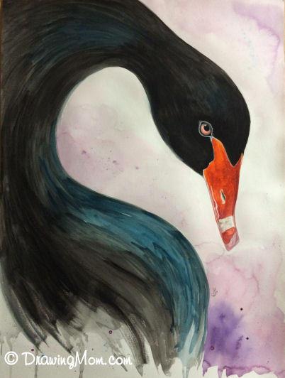 Black Swan by DrawingMom