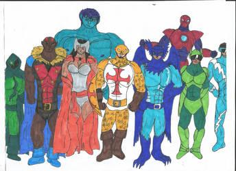 Multiverse: Champions of Angor by MalchiorOfNol