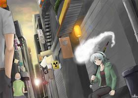 Urban Youmu by VenomousBlaze