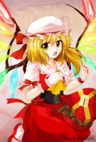 Sweet Vampire - Flandre Scarlet by VenomousBlaze