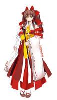 Reimu Hakurei Ceremonial Ver. by VenomousBlaze