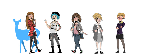 Life is Strange Lead Females by PersonaRush