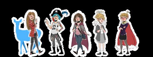 Life is Strange Lead Girls by PersonaRush