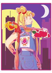 Punk Sailor Moon by PersonaRush